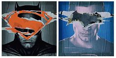 Superhero Wall Art I Batman I Superman I Justice League I Canvas Wall Décor Art - Batman vs. Superman (Set of Canvas Wall Decor, Nursery Wall Decor, Wall Art Decor, Frames On Wall, Framed Wall Art, Wall Décor, My Canvas, Canvas Prints, Superhero Wall Art