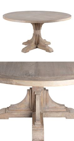 With its traditionally-inspired base design and antiqued finishing, this Antonio Dining Table offers an elegant take on the rustic aesthetic. Crafted from French gray-finished mango wood, this dining t...  Find the Antonio Dining Table, as seen in the A Brownstone in Brooklyn Collection at http://dotandbo.com/collections/a-brooklyn-brownstone?utm_source=pinterest&utm_medium=organic&db_sku=118273