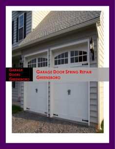 If you need a reasonable priced repair of your springs then call the experts. Most of the time, the above your head doors that we are likely to make use in our car port are not equipped with security brakes.