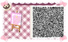 Animal Crossing: New Leaf & HHD QR Code Paths Star crossed Pastel  boarder #4