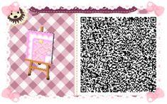 Animal Crossing: New Leaf & HHD QR Code Paths Star crossed Pastel  boarder #4