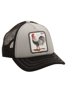 A trucker style baseball cap that's featured in Goorin's Animal Farm Collection! #designerstudiostore #holidaygift #giftforhim