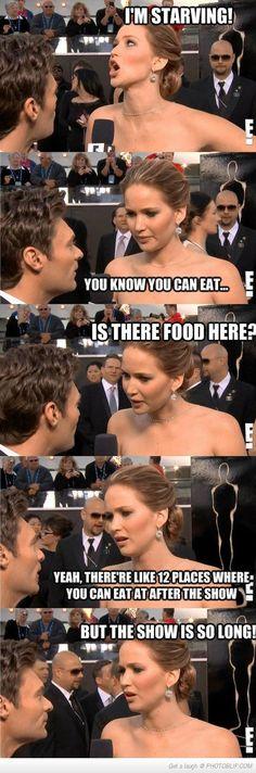 Jennifer on food