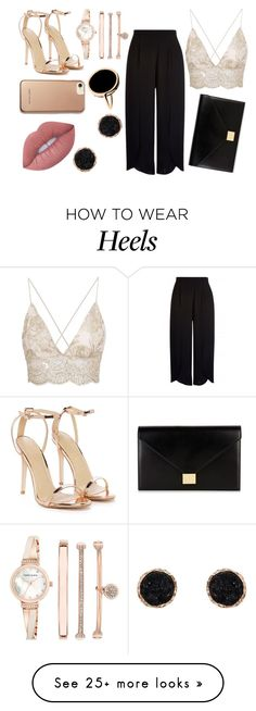 Designer Clothes, Shoes & Bags for Women How To Wear Heels, Karen Millen, Anne Klein, Nasty Gal, Victoria Beckham, Shoe Bag, Chic, Polyvore, Stuff To Buy