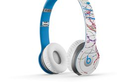 NEW Futura x #Beats by #DrDre Solo HD Headphones. Bright and colorful #CrowdShopping