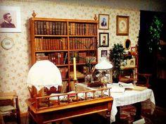 Rekonstrukcja gabinetu M. Brensztejna - fragment najnowszej wystawy czasowej