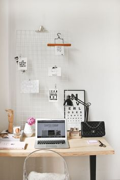 A home office tour a