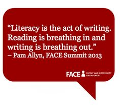 Pam Allyn on #reading #writing #literacy #ScholasticFACE