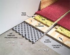 Keep your finished basement floor dry, even if the concrete gets wet.