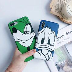 Cute Cartoon Donald Duck Goofy Case for iPhone Iphone 6, Iphone Cases Disney, Cool Iphone Cases, Cute Phone Cases, Ipod Touch 6 Cases, Ipod Touch 6th, Mobile Accessories, Iphone Accessories, Mobile Covers