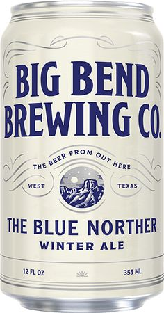 The Blue Norther Winter Ale