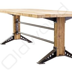 Here are the And Unique Industrial Table Design Ideas. This article about And Unique Industrial Table Design Ideas was posted … Furniture Logo, Furniture Decor, Furniture Design, Office Furniture, Black Furniture, Furniture Outlet, Discount Furniture, Vintage Industrial Furniture, Industrial Interiors