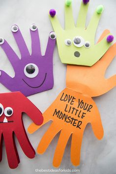 Monster Halloween Craft