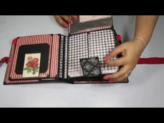Blue fern Studio Love Story - Hearts & Moving Parts Interactive Scrapbook - YouTube
