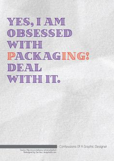 Confessions graphic designer typography posters