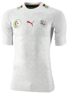 Algeria (Fédération Algérienne de Football) - 2012 Africa Cup of Nations Puma Home Shirt