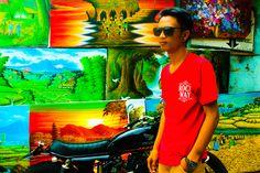 At terasering ubud Bali
