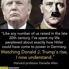 Are Hitler-Trump Comparisons Fair? A Holocaust Survivor Tells His Son - Democratic Underground