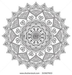 Mandala. Vintage decorative elements. Oriental pattern, vector illustration.  Islam, Arabic, Indian, turkish, pakistan, chinese, ottoman motifs - stock vector