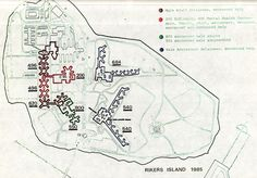 Rikers Island, Mental Health Center, Adolescence, Map, Maps