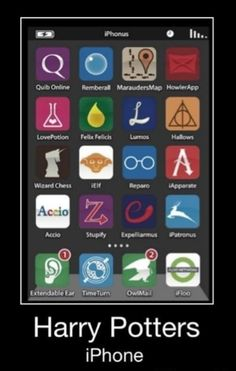 Harry Potter iPhone