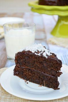 Gluten Free Chocolate Coconut Zucchini Cake   Good Life Eats