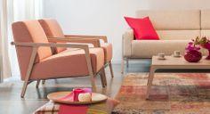Sweet Pink Retro. Harvink meubelen zijn verkrijgbaar in onze showroom Gilsing Wonen in Zevenaar. Bekijk Harvink ook op onze website http://www.gilsingwonen.nl/merken/harvink
