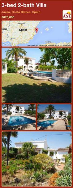 3-bed 2-bath Villa in Javea, Costa Blanca, Spain ►€675,000 #PropertyForSaleInSpain
