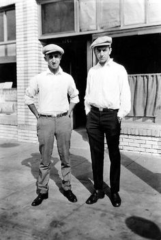 Roy O. Disney and Walt Disney, 1920s. Portrait made available by Timothy S. Susanin.
