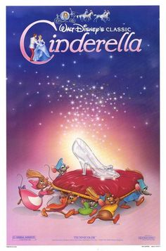 cinderella-my grandmother and I use to watch it whenever it was on TV!!