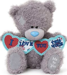 Love You This Much Me to You Tatty Teddy