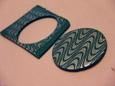 How to silk screen #Polymer #Clay #Tutorials