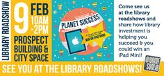 This was a paper flyer made to advertise the library roadshows. The Roadshows were key events aimed at engaging customers with our investment campaign and capturing customer articulation of actual contributions made.