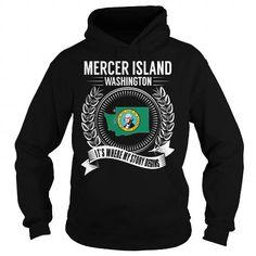 Cool Mercer Island, Washington - Its Where My Story Begins T shirts
