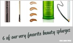 6 of our favorite, worthwhile beauty splurges...and a frank discussion about whether Creme de la Mer is worth it. | CoolMomPIcks.com