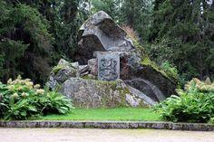 Napuen taistelun muistomerkki ( 19.2.1714 ), Isokyrö. - Matti Björklund-Visanti v. 1920. Battle