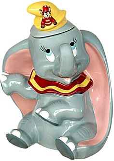 cookie jars | Cookie Jars, Disney Dumbo Cookie Jar