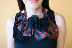 Upcycle: Repurposed neck ties & zippers | the ReFab Diaries
