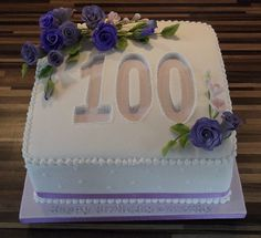 49 Best 100th Birthday Cakes You Made A Century Images
