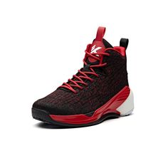 3161abeb7adb Anta Klay Thompson KT4 Youth Basketball Shoes - Red Black