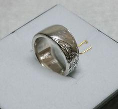 Nostalgischer Besteckschmuck-Ring 16,8 mm SR536 von Atelier Regina auf DaWanda.com