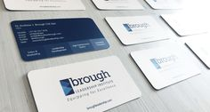 Along with a brand new website design for the Brough Leadership Insitute, a new personal website for Andrew Brough, OPS created brand new business cards.