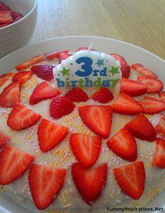 3rd Birthday Cake & Hot Milk Sponge Cake Recipe