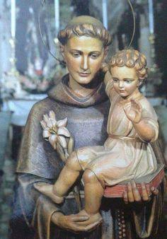 Statues, Saint Anthony Of Padua, Jesus Christ Images, Catholic Religion, San Francisco, God Loves Me, Princess Zelda, Faith, Desktop
