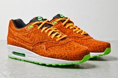 Air Max 1 Orange Leopard