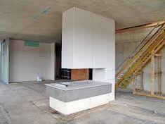 bildergebnis fr kamin als raumtrenner - Steinplatte Kamin Surround