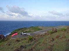 Juancho E. Yrausquin Airport (SAB) Saba, Netherlands Antilles