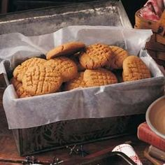 Flourless Peanut Butter Cookies Recipe -When my mother (who's now a great-grandmother) gave me this recipe for no-flour peanut butter cookies about 15 years ago, I was skeptical, because it calls for only three ingredients (and no flour?!). But since then I've never had a failure, and I make them all the time! —Maggie Schimmel, Wauwatosa, Wisconsin