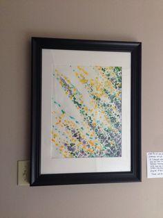 "Seeking power? No.  Seek Humility, Wisdom & Love. Watercolor 14 x 18"". $200.00"
