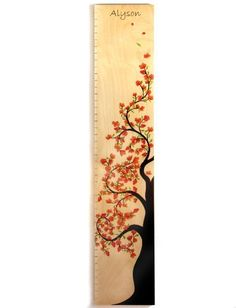 Cherry Blossom Tree of Life Growth Chart -Personalized